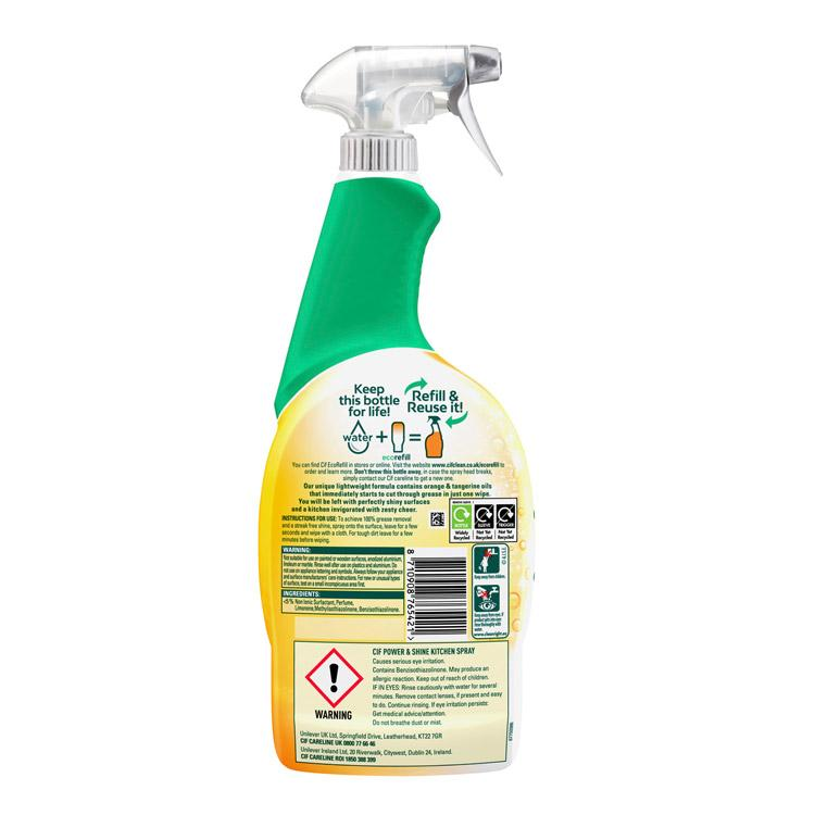 Cif Power & Shine Kitchen Spray 700ml