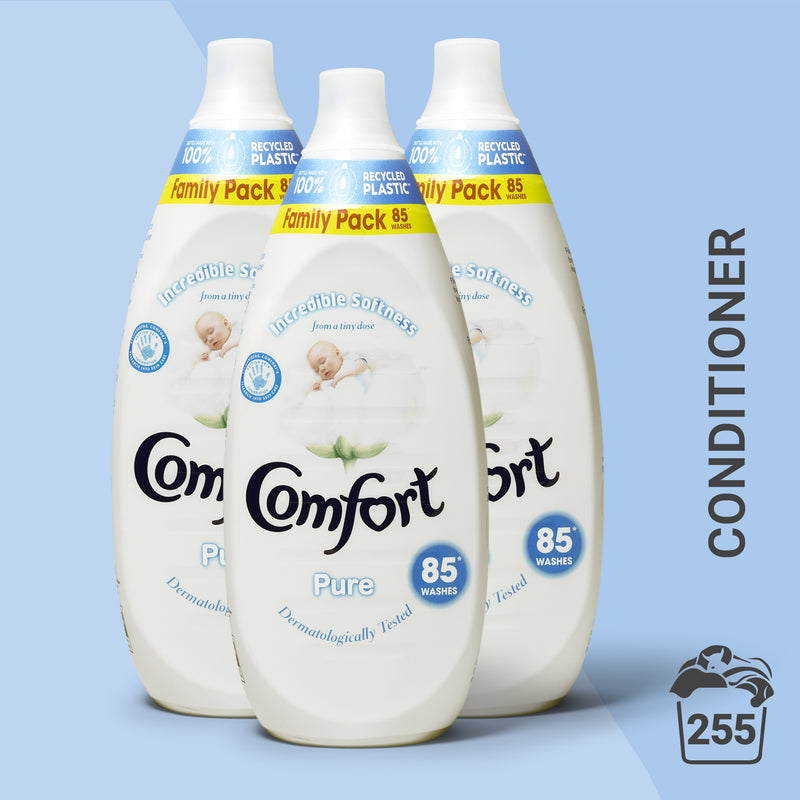 Comfort Intense Pure Laundry Conditioner Liquid 85 Wash Multi-Buy