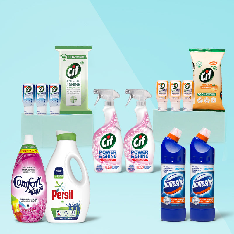 Home Essentials Cleaning Bundle
