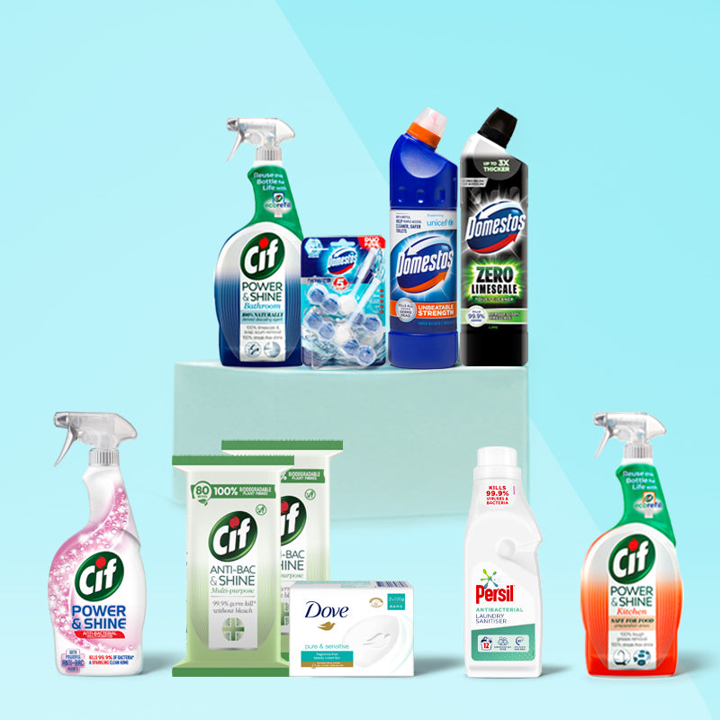Germ and Bacteria Removal Bundle, with Laundry