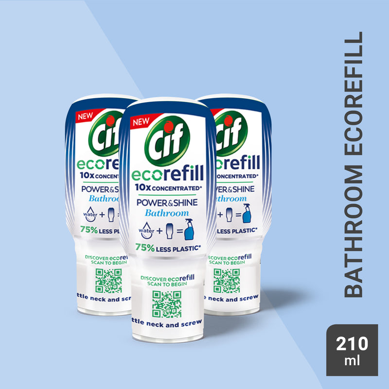Cif Power & Shine Bathroom Ecorefill 70ml Multi-Buy
