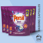 Thumbnail 1: Persil 3in1 Colour Washing Capsules, 50 Wash, Multi-Buy