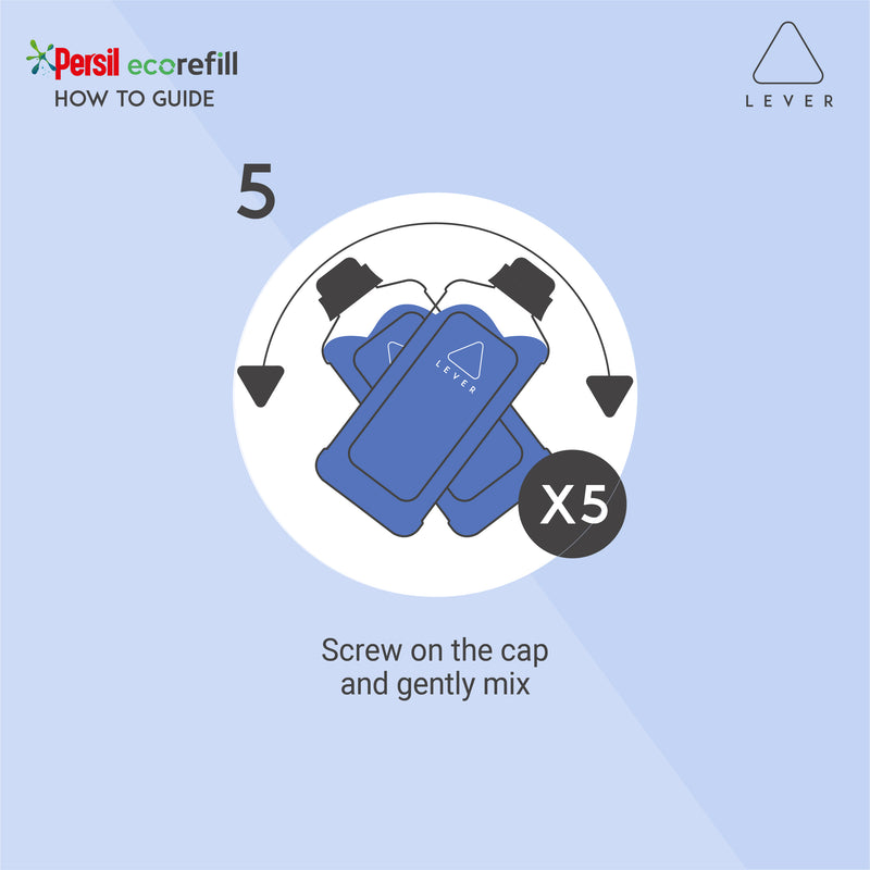 Persil Ecorefill Bio Pouch By LEVER, 44 Washes