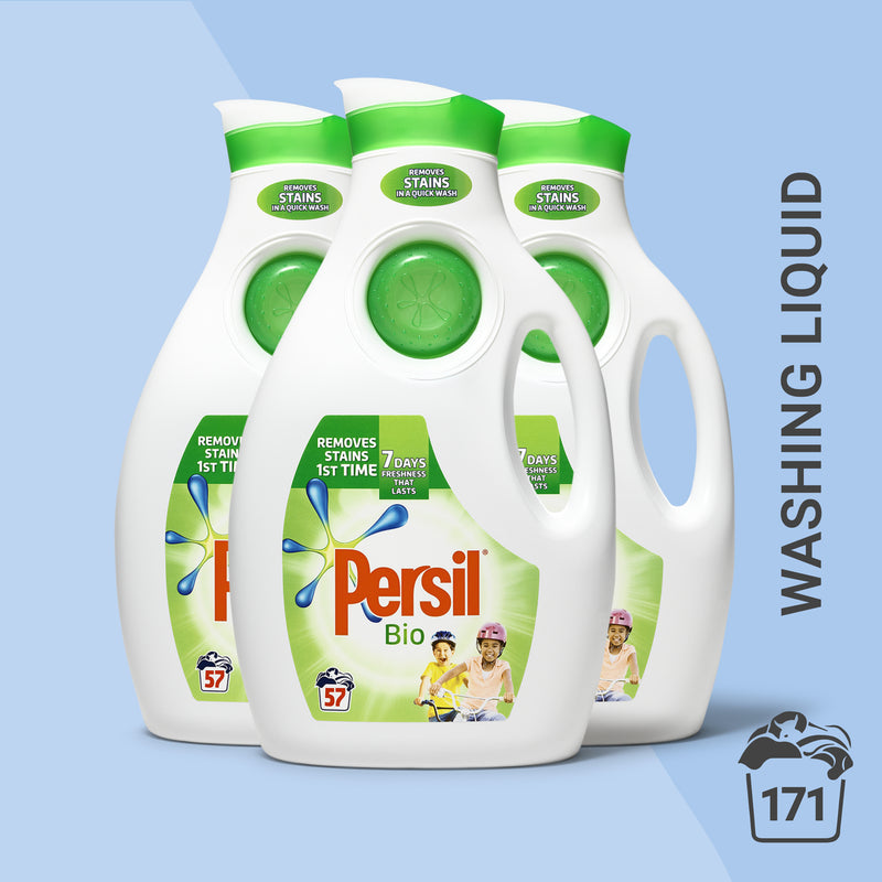 Persil Bio Washing Liquid 57 washes 1.995L, Multi-Buy