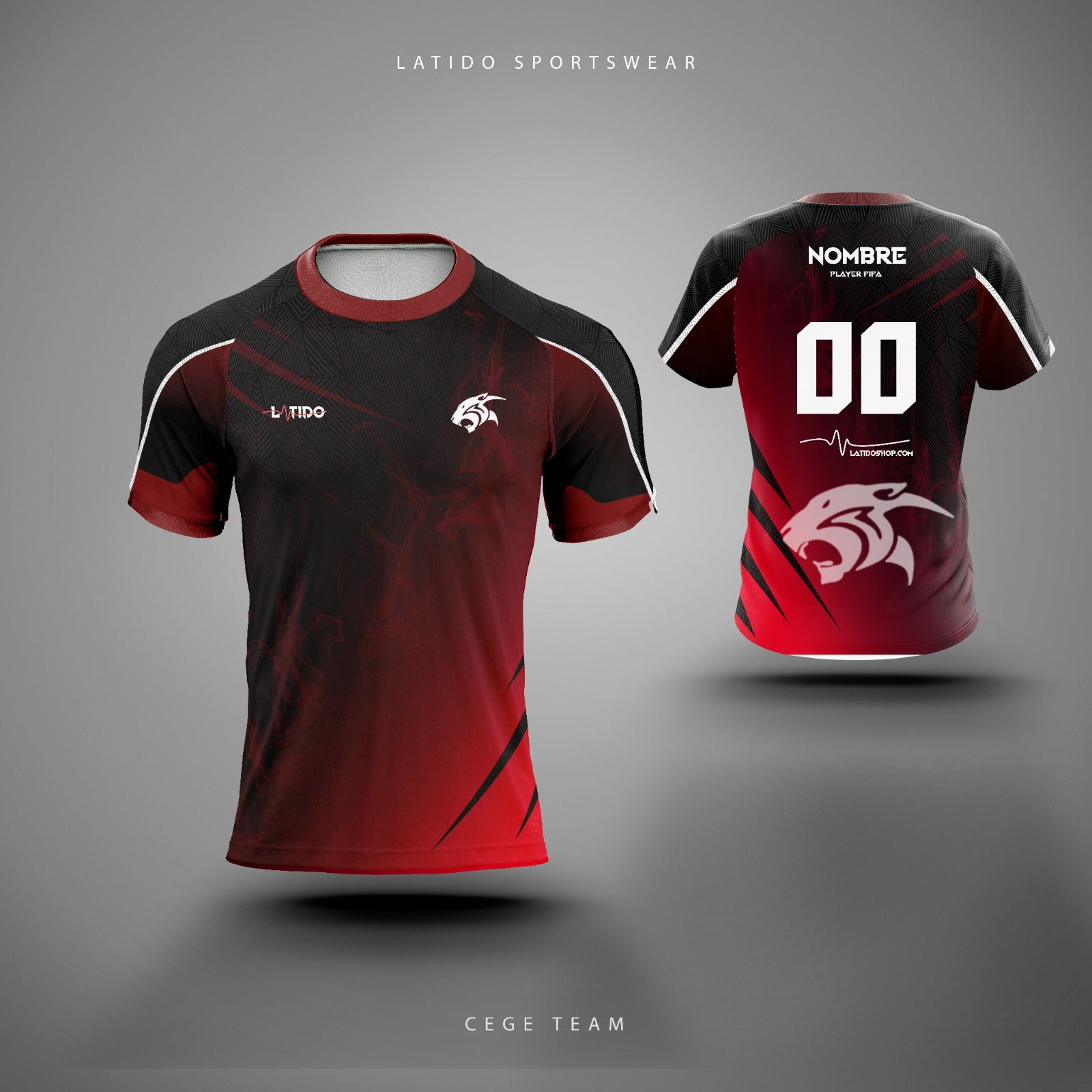 Camiseta  Ceges eSport