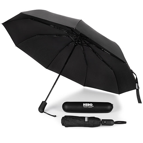 HERO Travel Umbrella - Windproof, Compact and Portable