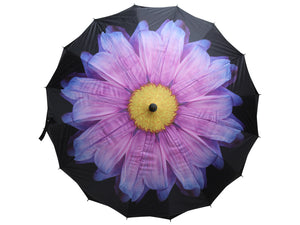 Umbrella Purple Flower
