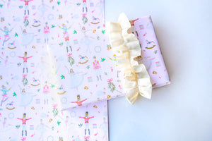 Nutcracker Pink Wrapping Paper