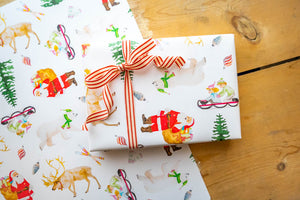 In the Snow Wrapping Paper