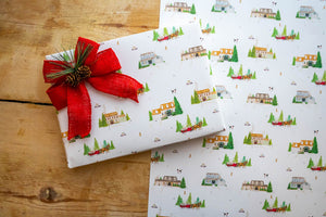 Winter in Homestead Wrapping Paper