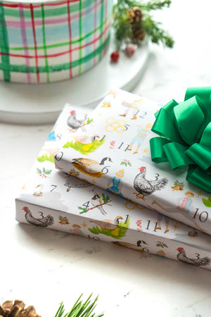 12 Days of Christmas Wrapping Paper