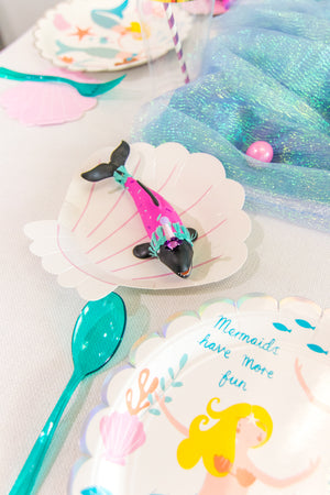 Party Animal Whale Shark- painted carnival, circus, and birthday decor
