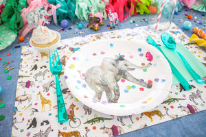 Party Animal Paper Placemat