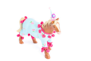 "Jumbo Party Animal ""Lisa"" the Horse- cake topper, farm, and birthday decor"