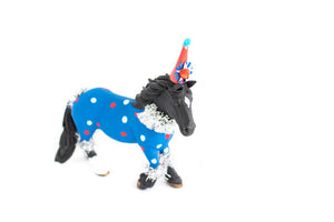 "Western Horse ""Liea"" -painted western, cowgirl, birthday decor & cake topper"