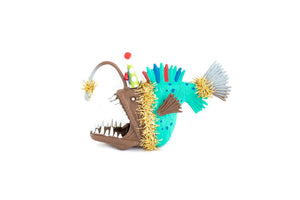 Party Animal Angler Fish- cake topper and birthday decor