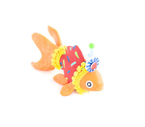 "Jumbo Party Animal ""Richie"" The Goldfish- cake topper and birthday decor"