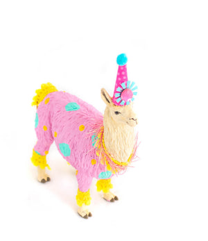 "Party Animal ""Calli"" The Llama - cake topper, birthday decor"