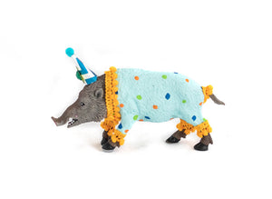 "Party Animal ""Arnold"" The Boar -painted carnival, circus, and birthday decor"