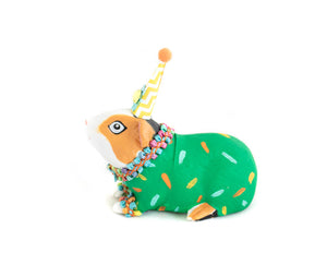 "Party Animal ""Bill"" The Guinea Pig- painted carnival, circus, and birthday decor"