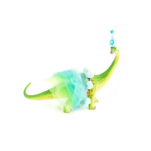 Party Brontosaurus with Tutu - painted birthday decor