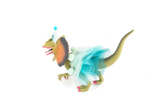 Party Dilophosaurus with Tutu- cake topper, party decor
