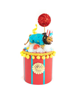 Lion Party Podium- centerpiece, party decor, cake topper