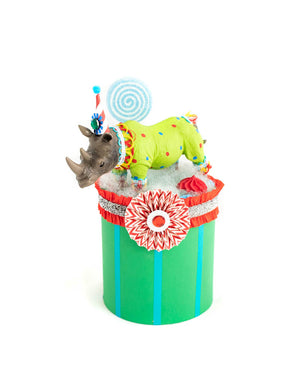 Rhino Party Podium- centerpiece, party decor, cake topper