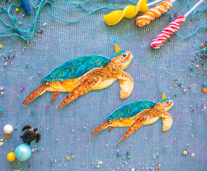 Sea Turtle Paper Doll