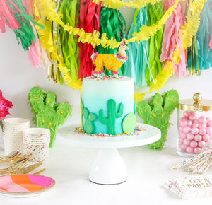 Custom Order Party Llama - cake topper, birthday decor