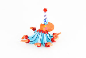 Custom Order Jumbo Octopus- Cake topper and birthday decor