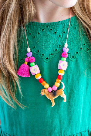 Painted Party Dog Necklace Kit