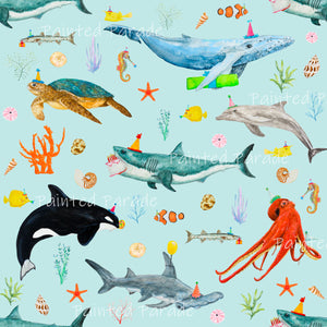 Ocean Party Fabric