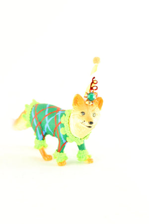 "Jumbo Party Animal ""Than"" the Fox painted carnival, circus, and birthday decor"