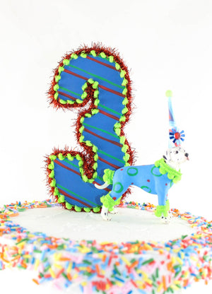 Custom Number Cake Topper
