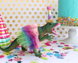 "Party Dinosaur ""Lilly""- painted birthday, and room decor"
