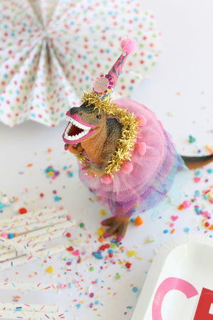 "Party Dinosaur ""Lizzy""- painted birthday, and room decor"