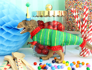 "Party Dinosaur ""Adam""- painted birthday, and room decor"