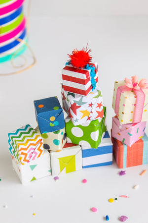 Mini Present Toppers