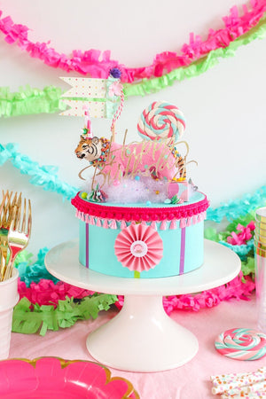 Elephant Party Podium- centerpiece, party decor, cake topper