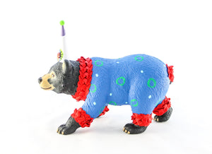 "Jumbo Party Animal ""Harry"" the Bear- Cake topper and birthday decor"