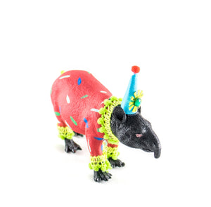 "Party Animal ""Thane"" The Tapir -painted carnival, circus, and birthday decor"