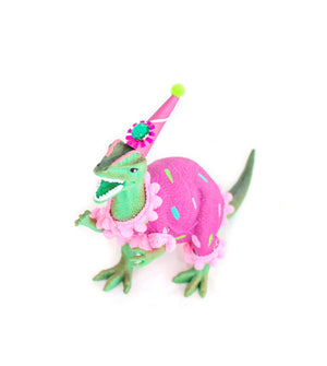 "Party Dinosaur ""Lexy""- painted birthday, and room decor"