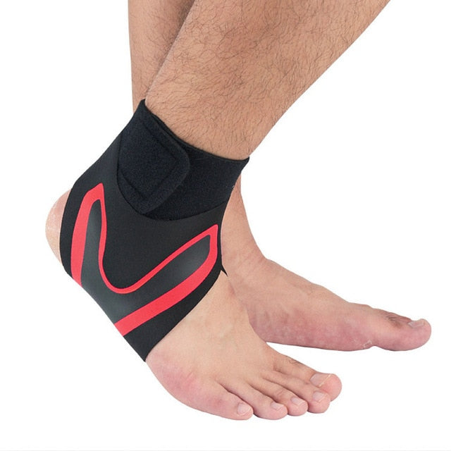 Adjustable Ankle Support Brace Elasticity Protection