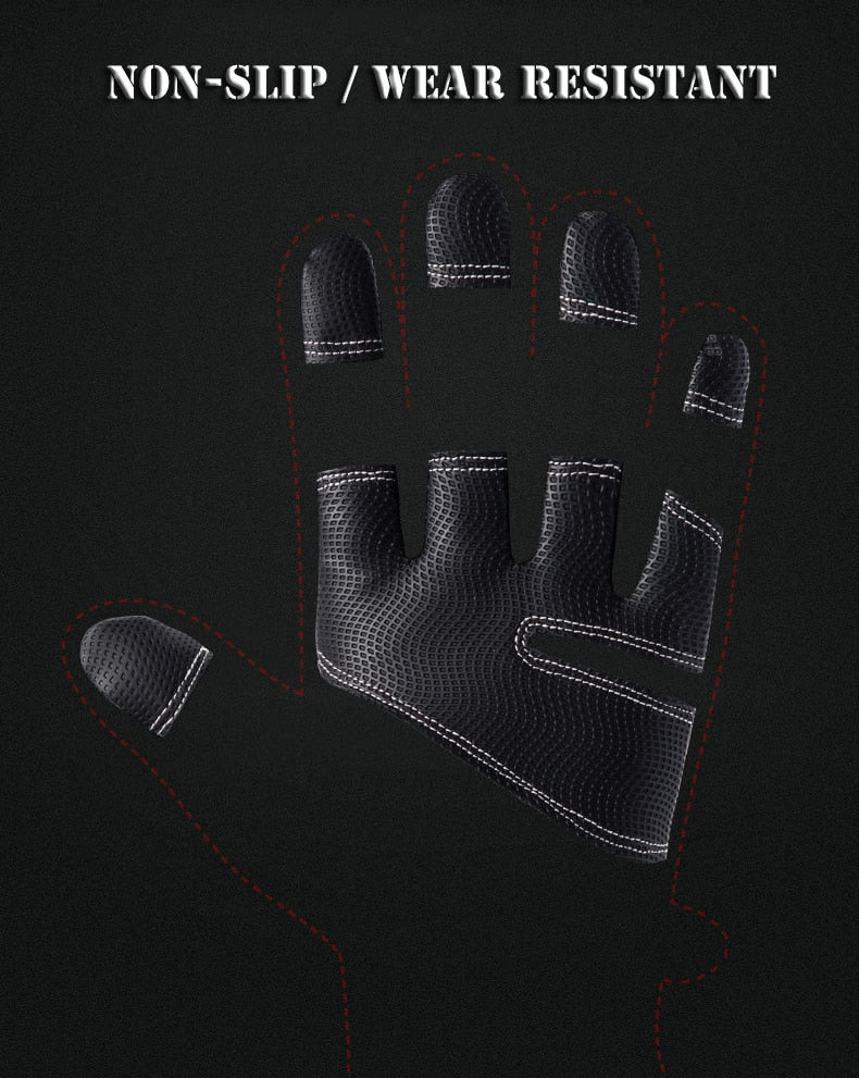 Cold-proof Ski Gloves Waterproof Winter Gloves