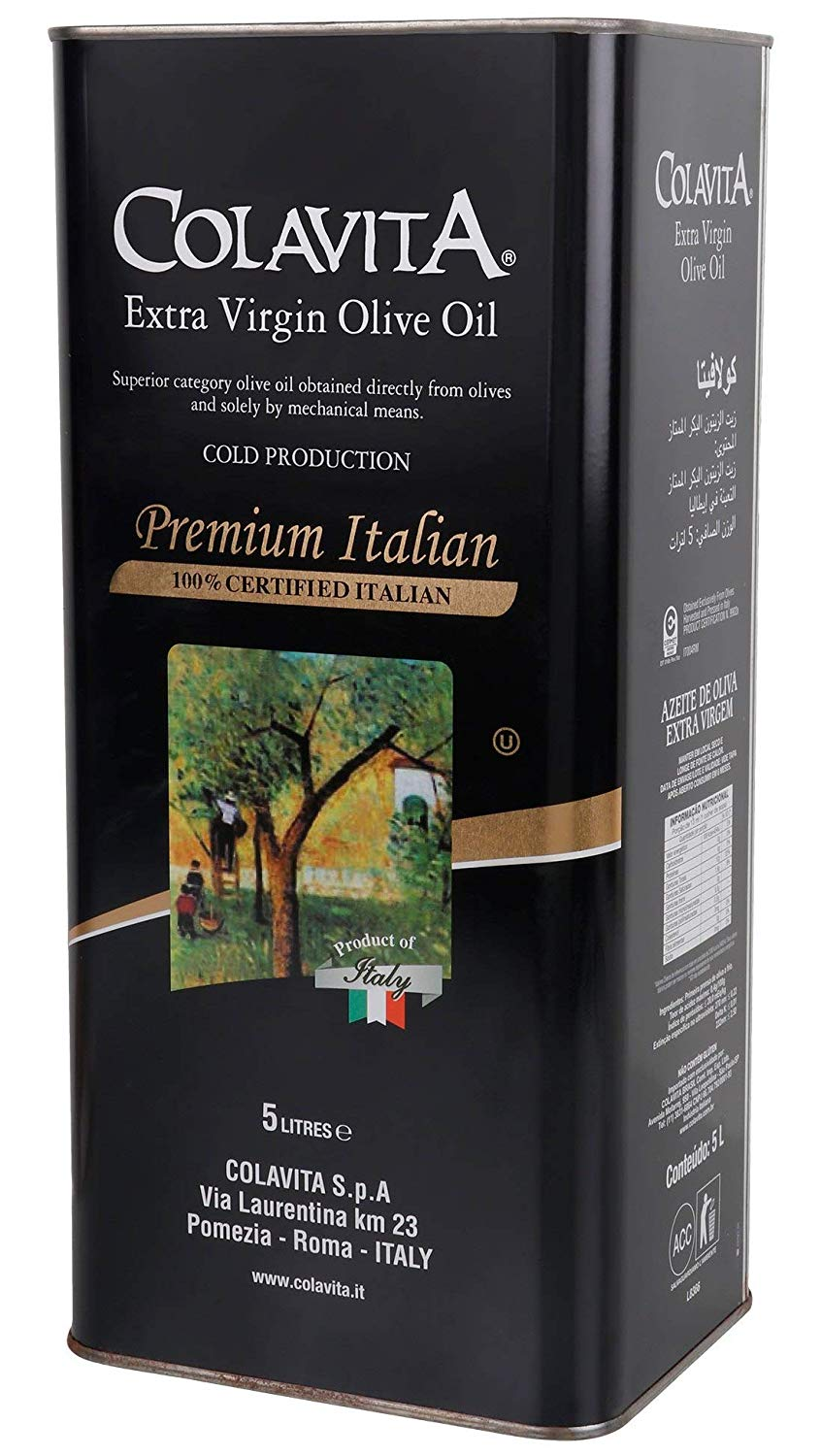 Colavita 100% Extra Virgin Olive Oil 5lt
