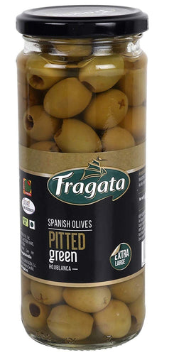 Fragata Pitted Green Olives 440gm