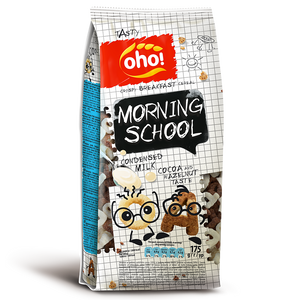 Oho Breakfast Cereal Morning School 175gm
