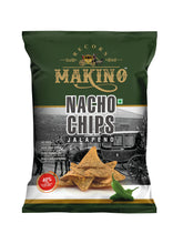 Load image into Gallery viewer, Makino Nacho Chips Jalapeno 150gm
