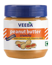Load image into Gallery viewer, Veeba Peanut Butter Crunchy 340gm